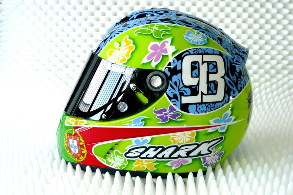 Casque Shark Tiki Barbosa
