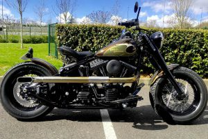 Harley Softail Slim Eagle 1950 Borie