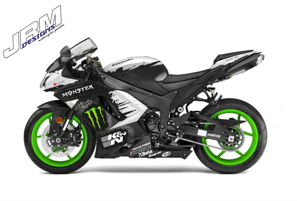 zx6r monster projet