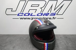 Casque Ruby Black Metal