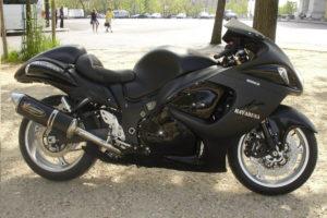Suzuki Hayabusa Full Black