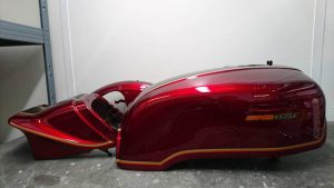 Restauration Honda 750 Super Sport