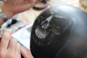 Casque Jet Skull/Death