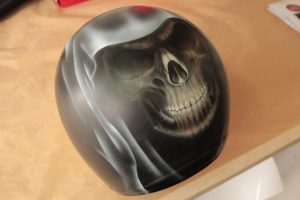 Casque Jet Skull/Death