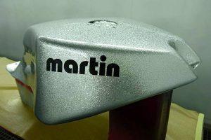 Gsx-R KMP Martin Metal Flakes