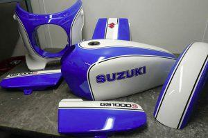 Suzuki GS 1000 s Restauration peinture
