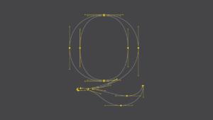 dessin vectoriel pour créer un pochoir.