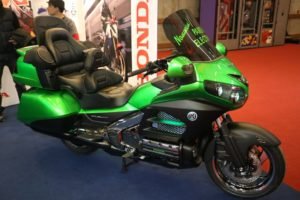 Honda Gold Wing Starbike vert candy