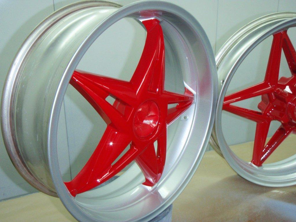 Jantes MV Agusta Gris-rouge